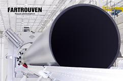Technological lines for the production of polyethylene (HDPE) pipes. Fartrouven R&D. Portugal